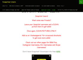 snapchatusers.co.uk