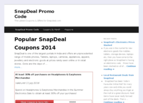 snapdealpromocode.co.in