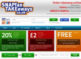 snapfaxtakeaways.co.uk