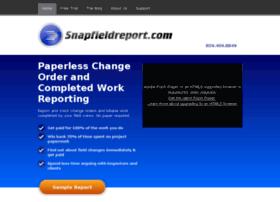 snapfieldreport.com