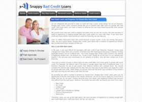 snappybadcreditloans.com