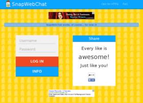 snapwebchat.com