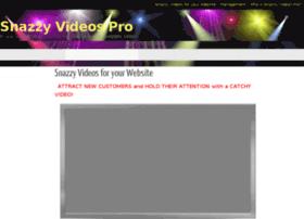 snazzyvideospro.com