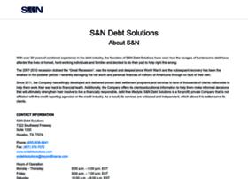 sndebtsolutions.com