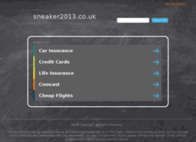 sneaker2013.co.uk