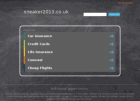 sneaker2013.co.uk