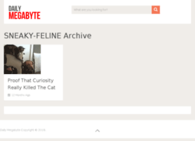 sneaky-feline.dailymegabyte.com