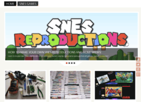 snesreproductions.info
