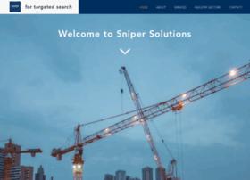 snipersolutions.com