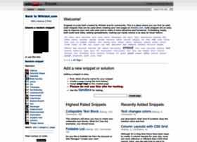 snippets.wikidot.com
