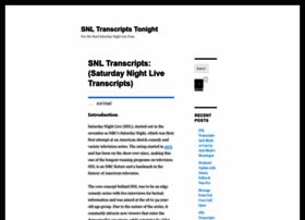 snltranscripts.jt.org