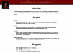 snmaynard.com