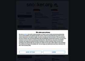 snooker.org