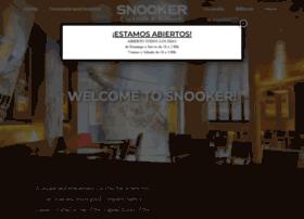 snookerbarcelona.com