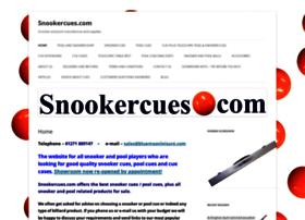 snookercues.com
