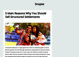 snopes2.com