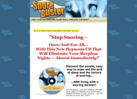 snorebuster.com