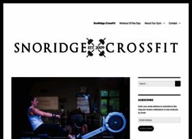 snoridgecrossfit.com