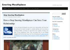 snoring-mouthpiece.org