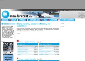 snow-forecast.info