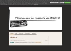 snow-fox.jimdo.com