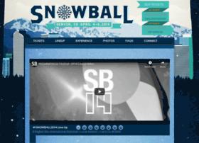 snowballmusicfestival.com