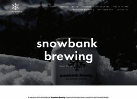 snowbank.beer