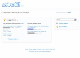 snowbll.uservoice.com