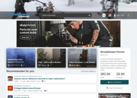 snowblowerforum.com