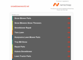 snowblowerworld.net