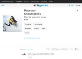snowmobiles.axlegeeks.com