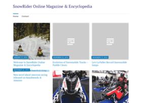snowridermag.com