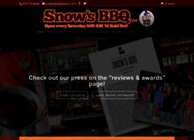 snowsbbq.com