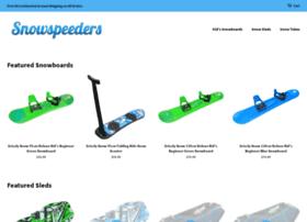 snowspeeders.com