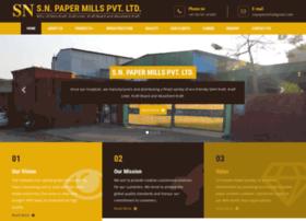 snpapermills.com