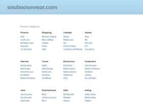 snubnosewear.com