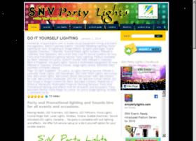 snvpartylights.com