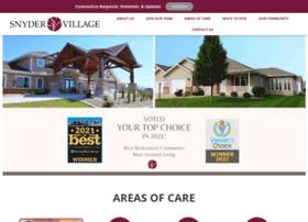 snydervillage.com