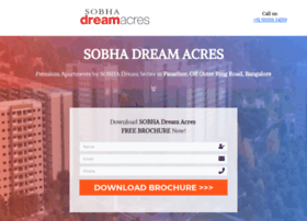 sobhadreamacres.ind.in