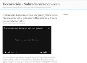 sobredecoracion.com