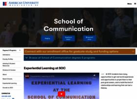 soc.american.edu