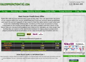 soccer-predictions-1x2.sportal.tips
