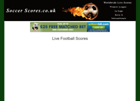 soccer-scores.co.uk