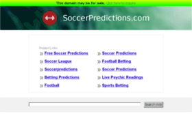 soccerpredictions.com