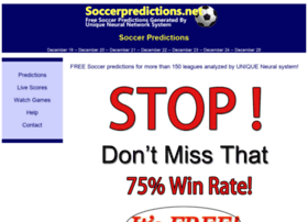soccerpredictions.net