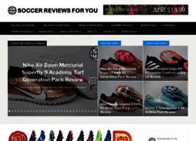 soccerreviewsforyou.com