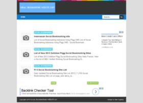 socialbookmarkingwebsitelist.blogspot.in