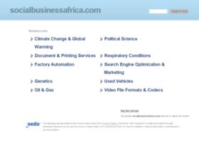 socialbusinessafrica.com