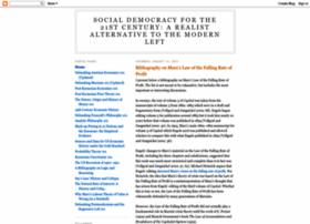 socialdemocracy21stcentury.blogspot.co.uk