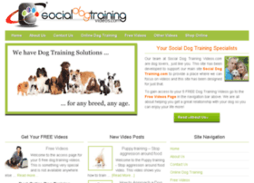 socialdogtrainingvideos.com